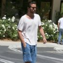 Scott Disick is spotted out for lunch at Lovi's Deli in Calabasas, California on June 30, 2016 - 403 x 600