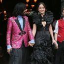 Dakota Johnson on Her Way to MET Gala in New York (May 01, 2017)