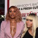 Nckki Minaj attend the premiere of New Line Cinema's