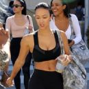 Draya Michele was seen leaving a yoga class in Beverly Hills, California on March 31, 2017 - 450 x 600