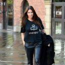 Lisa Snowdon – Leaving Hits Radio Station in Manchester - 454 x 661