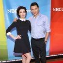 Stevie Ryan and Dr. Mike Dow - NBC's 2015 Press Day - 421 x 600