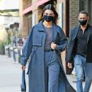 Kendall Jenner – Seen leaving her hotel in Tribeca – New York