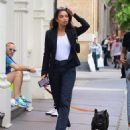 Shanina Shaik – Out in NYC - 454 x 552