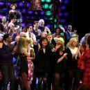 Linda Hart at Hairspray's Final Performance - 454 x 547