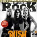 Geddy Lee, Alex Lifeson, Neil Peart - Classic Rock Magazine Cover [Russia] (May 2015)