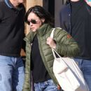 Shannen Doherty in Green Jacket – Shopping in Malibu - 454 x 581
