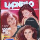 Cinzia Lenzi - Il Monello Magazine Cover [Italy] (13 April 1984)