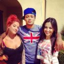 Romeo Miller and Francia Raisa