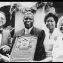 Branch Rickey  with Jackie Robinson & Family at Jackie's induction into The Baseball Hall of Fame