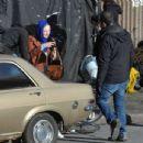 Dakota Fanning – Filming 'Sweetness in the Belly' in Dublin - 454 x 346