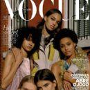Ellen Rosa - Vogue Magazine Cover [Brazil] (April 2018)
