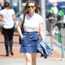 Gillian Jacobs Out and About in Beverly Hills 07/27/2016 - 454 x 650