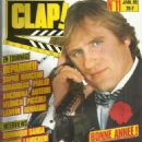 Gérard Depardieu - Clap! Magazine Cover [France] (January 1985)