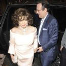Joan Collins – Hello! Magazine x Dover Street Market Party in London - 454 x 709