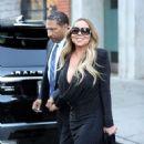 Mariah Carey – Leaving Mr Chow Restaurant in Beverly Hills - 454 x 681