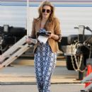 AnnaLynne McCord made her way to the set of 90210 in Los Angeles, California on March 8, 2012