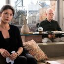 Catherine Zeta-Jones as Kate Armstrong and Bob Balaban in No Reservations - 2007