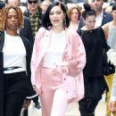 Jessie J at Good Morning America in New York