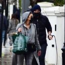 Christine Lampard – Shopping candids in Chelsea - 454 x 681