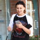 Aly Michalka in Jeans out in Beverly Hills September 7, 2016