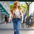 Katherine McNamara – Out and about in New York City
