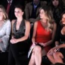 Alexandra Chando: at the Pamella Roland Fall 2012 fashion show during Mercedes-Benz Fashion Week at The Studio at Lincoln Center