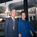 Aboard the SS United States , silver wedding anniversary, June 1, 1962.
