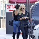 Brittany Snow out and about in Studio City 10/08/10