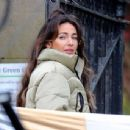 Michelle Keegan – on the set of 'Brassic' in Lancashire - 454 x 343