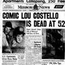 Lou Costello - 454 x 705