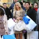 Paris Hilton - Filming A Commercial Outside Bloomingdale's For Israeli Lottery, 2010-02-04