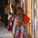 Sofia Vergara in Summer Dress – Shopping in Bal Harbour