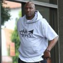 Lamar Odom is spotted out filming a new reality tv show in Beverly Hills, California on January 9, 2017 - 454 x 600