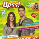 "Joe Jonas and Ashley Greene on the cover of ""Upss"" Magazine"