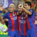 Barcelona 7-0 Celtic: Holy Trinity of Lionel Messi, Neymar and Luis Suarez leave Hoops praying for the end in Champions League opener at Nou Camp