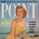 Jean Moorhead - Male Point Magazine Cover [United States] (August 1955)