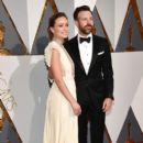 Olivia Wilde and Jason Sudeikis attends the 88th Annual Academy Awards at Hollywood & Highland Center on February 28, 2016 in Hollywood, California