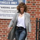 Jennifer Lopez on the set of 'Shades of Blue' in NYC - 454 x 703
