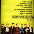 First Poster for Martin McDonagh's SEVEN PSYCHOPATHS and New Poster for THE WORDS Starring Bradley Cooper [Updated] - 394 x 600