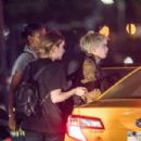 Ashley Benson and Cara Delevingne – Leaving a Party at Milk Studio in NYC