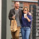 Emilia Clarke and Charlie McDowell – Out in Venice Beach