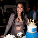 Christina Milian – Intimate baby shower held in Westwood - 454 x 616