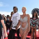 Amber Rose and Wiz Khalifa attend the 2014 MTV Video Music Awards at The Forum in Inglewood, California - August 24, 2014 - 396 x 594
