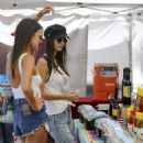 Victoria Justice and Madison Reed: Visit a Farmers Market in Los Angeles 07/27/2017