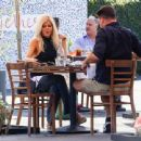 Donna D'Errico – Seen on a lunch date at Mauro Cafe in West Hollywood - 454 x 340