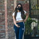 Olivia Munn – Looks sporty wearing Addidas while leaving a nail salon in Studio City - 454 x 680