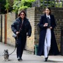 Alexa Chung – House hunting with Fran Cutler in London
