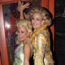 Karen Mason with Aubrey O'Day Backstage at 'Hairspray - 273 x 400