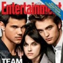 Robert Pattinson, Taylor Lautner and Kristen Stewart